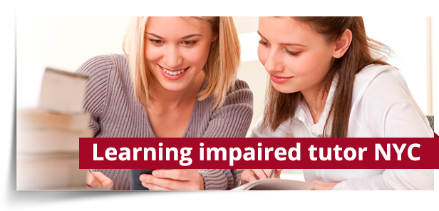 Learning impaired tutor NYC